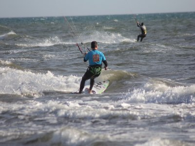 Easter week offer, Kitesurfing baptism, Málaga