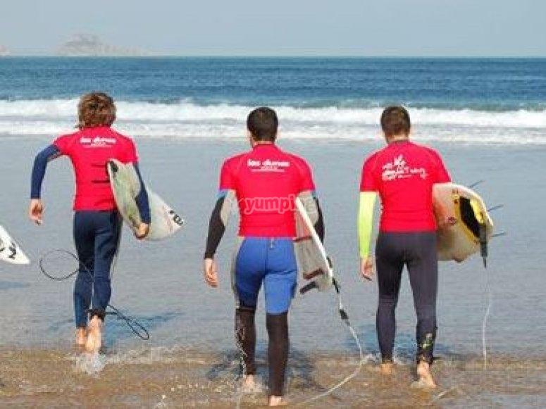 Clases de surf en Asturias