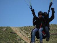 滑翔伞,串联航班溪降