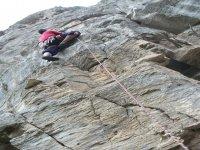 路线攀登铁索攀岩