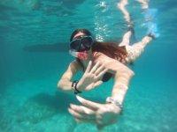Visita a reserva marina en lancha + snorkel