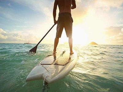 团体桨冲浪课程 Playa San Juan 2h