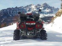 Quads en la nieve Quads Pirineos