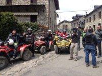 Visitando pueblos aragoneses en quads