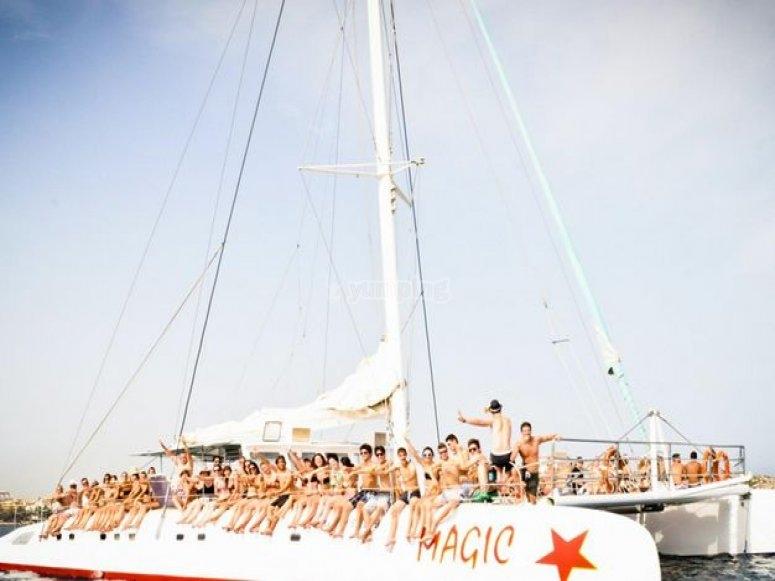 Fiesta en party boat