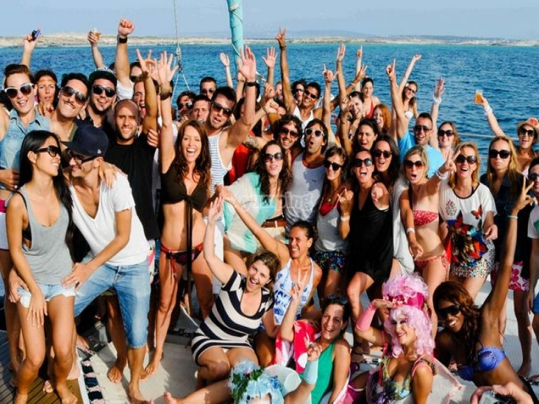 Fieston a bordo