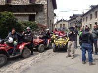 Visita guiada en Hoz de Jaca en Quads