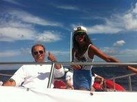 Capitan del barco de Cambados