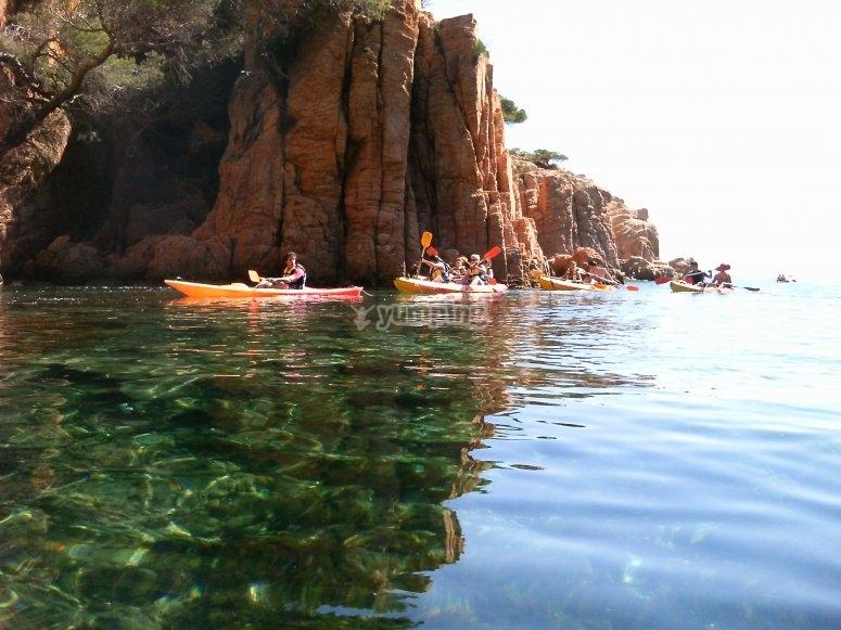 海岸皮划艇