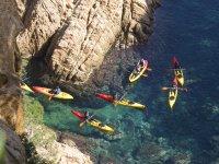 Paseo en kayak por el Mediterráneo