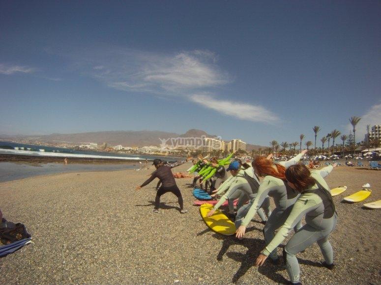 学习冲浪技巧