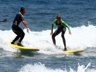 Clases de surf iniciación, en Tenerife 2h