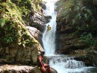 Rappelando la cascada