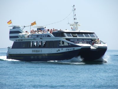 Catamaran Cruise to Calafat Cove from Salou