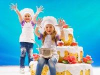 Haciendo tartas