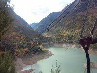 最长的Zip线欧洲的瓦莱德特纳