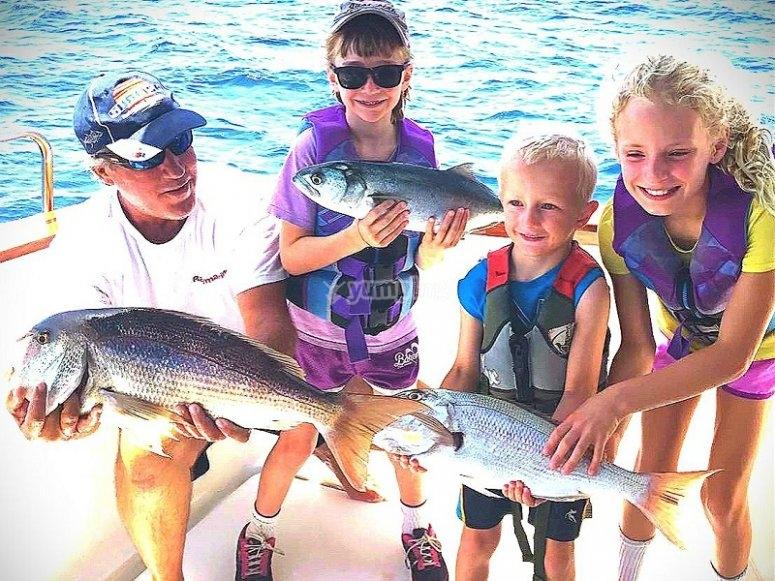 Cattura di pesca ad Alicante