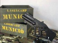 Municion y arma laser