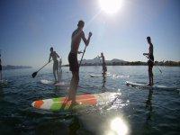 Salida grupal bordeando la costa norte de Mallorca