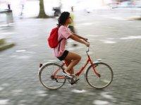 Gymkhana urbana en bici