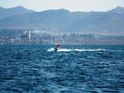 15-minute jet ski ride in Murcia