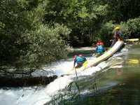 Descensos de rafting