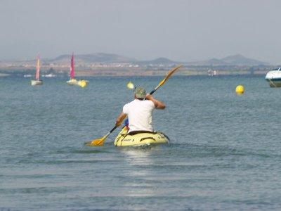 1 ora Doppio noleggio kayak. Manga del Mar Menor