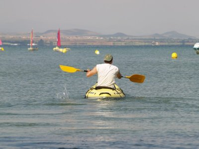1-Hour Canoe Rental in Manga of the Mar Menor