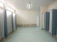 Vestuarios de las instalaciones