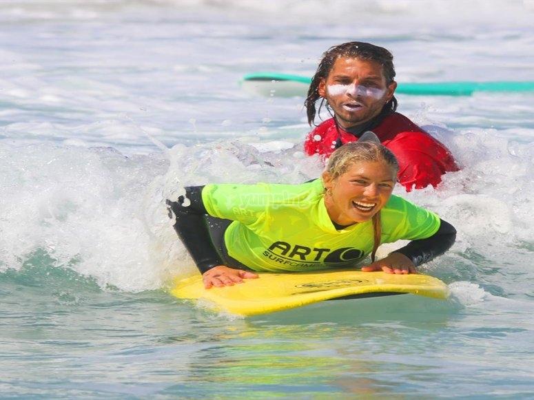 Camp surf en Galicia
