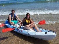 En canoa en pareja