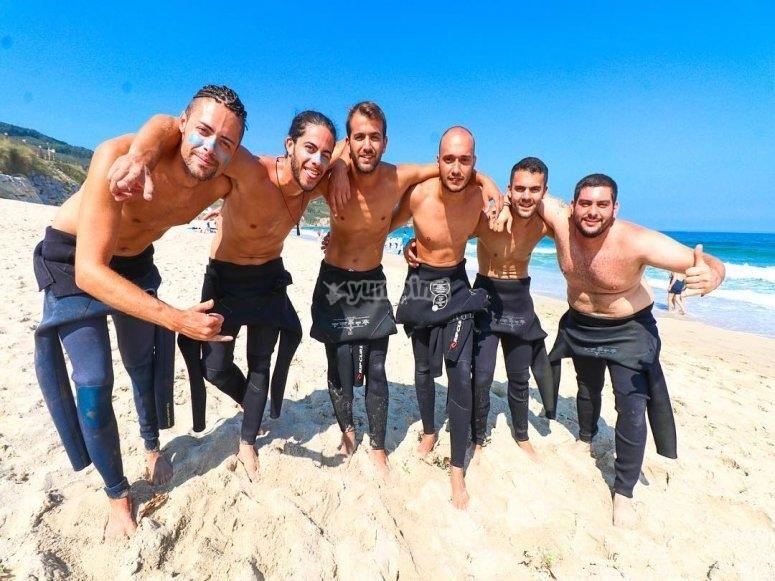 Campamento para adultos de surf Galicia