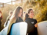 Campamento surf adultos en Carballo, junio, 6 días