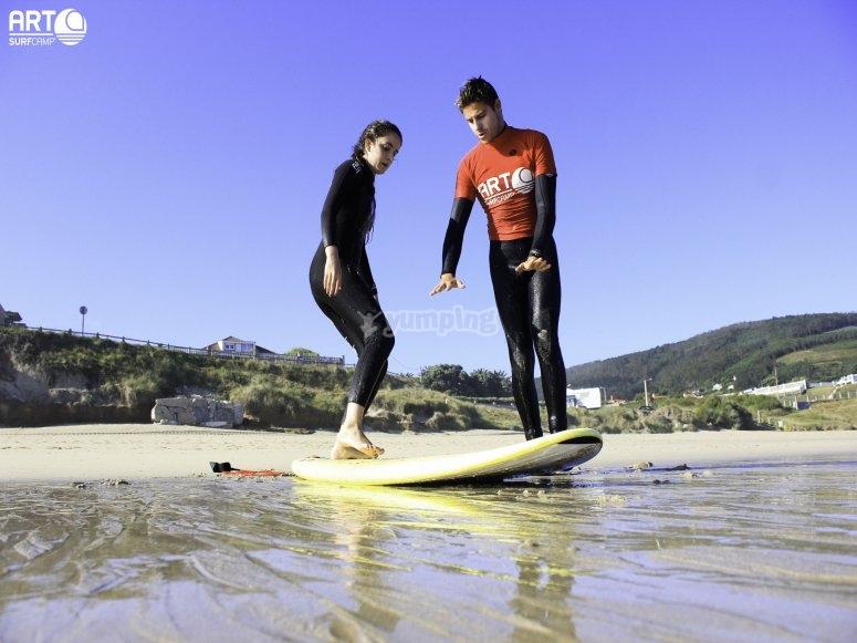 Clase surf