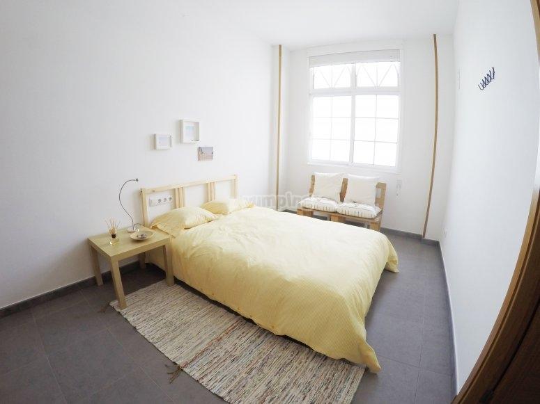 Habitacion del albergue