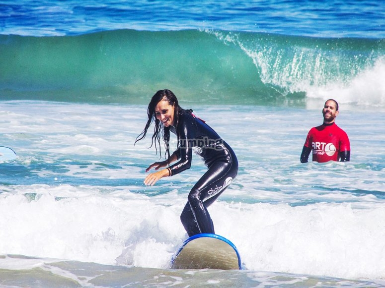 Advanced surf level