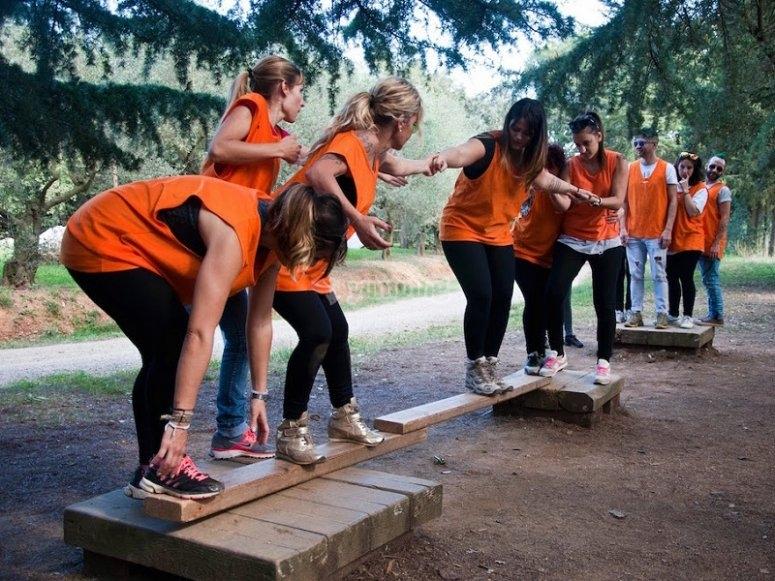 Creando un puente en equipo