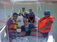 dia de sol en el barco