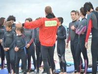冲浪教练指示