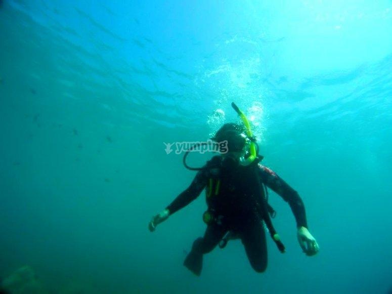 Inmersion de buceo