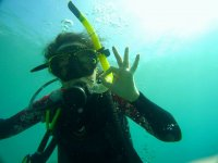 马拉加的开放水域潜水员潜水课程
