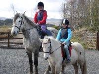 Rutas en pony y caballo