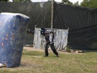 玩家在玩游戏的领域彩弹一个