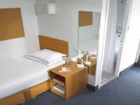 Dormitorio en el campus