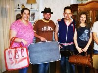 Viajeros en el hotel