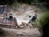 Paintball in natural setting in Segovia