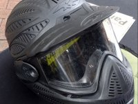 Complete mask to play paintball
