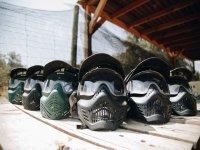 Maschere di paintball protettive