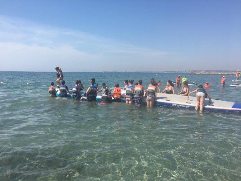 Activities on the ocean