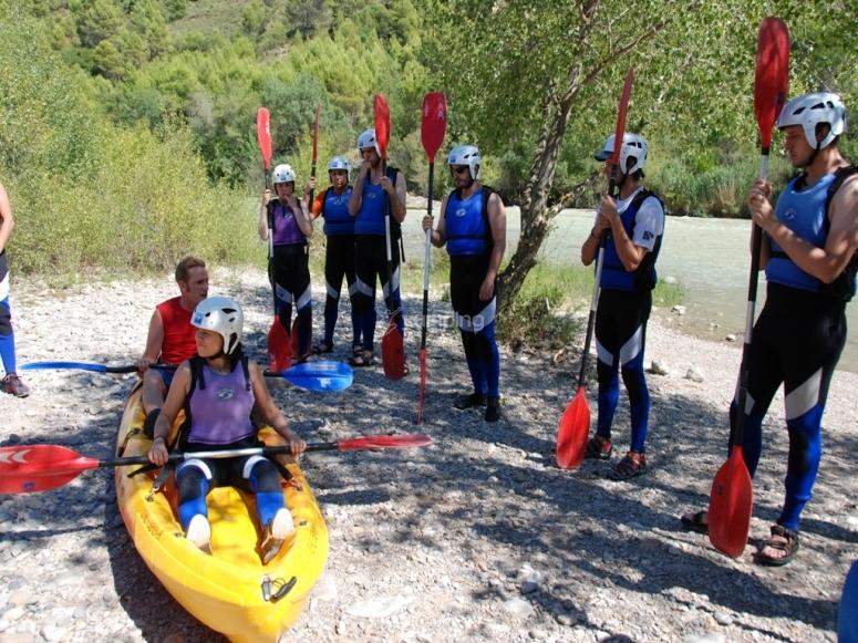 Canoa iniciación Mallos de Riglos